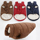 Pet Dog Winter Soft Warm Coat Sweater Puppy Fleece Vest Jacket Clothes HOT