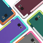 Silicane TPU PC gel Case Cover Protective for Samsung Galaxy S6 EDGE S8 Note 5