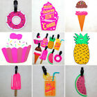 Luggage Tag Silicone Rubber PVC Easy To Find Bright Colorful Clothes Hang Tag