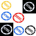 1xCar Truck Reflective Sticker Fuel Tank Cap Decal Vinyl Round Gift Word Graphic