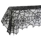 Funny Party Black Spiderweb Tablecloth Festival Party Table Cloth Cover Decor US