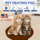 US Pet Cat Winter Warm Safety Electric Heating Heater Heated Mat Pad Blanket Bed
