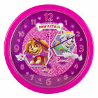 Paw Patrol Children's 24cm Wall Clock - Choose Chase or Skye