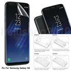 Front+Back Anti-dust Soft Film Screen Protector For Samsung Galaxy Note 8 S9 HU