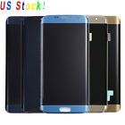 LCD Touch Screen Digitizer Assembly For Samsung Galaxy S6 S7 Edge S8 S9 Plus USA