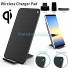 Qi 2-Coil Wireless Charger Charging Stand Pad for iPhone X 8 + Samsung Note 8 S8