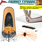 Chimney Sweep Power Sweep use your drill - Various Lengths Plus Fatwood...