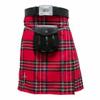 Tartanista Royal Stewart 5 pc Kilt Outfit - Kilt Sporran Pin Belt Flash 30-54