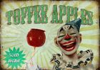 TOFFEE APPLES  VINTAGE STYLE FUNFAIR CIRCUS METAL SIGN: 3 SIZES TO CHOOSE