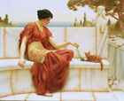"""JOHN WILLIAM GODWARD """"Favourite"""" Beauty ON CANVAS choose SIZE, from 55cm up, NEW"""