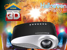 Mini LED Proyector HD 1080p HDMI Home Cinema Projector Multimedia Blanco/Negro