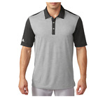 Adidas Golf Men's ClimaChill Heather Stripe Polo Shirt Black