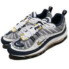 Nike Air Max 98 OG Tour Yellow Navy White Men Running Shoes Sneakers 640744-105