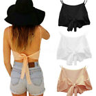 Sexy Ladies Backless Bowknot Cami Camisole Chiffon Bustier Bra Tank Tops Shirt