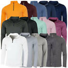 Calvin Klein Golf Mens 2018 Harlem 1/4 Zip Technical CK Pullover 29% OFF RRP