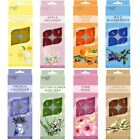 12pk Scented Flavored Tealight Candle Fragrances Aromatic Wax Tea Light Set Home