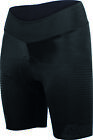Women's Racer Lycra Cycling Shorts in Black - made in Italy by Santini