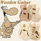 Electric Guitar Body DIY Solid Mahogany Wood Unfinished Guit