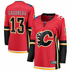Johnny Gaudreau Calgary Flames Womens Red Home Breakaway Player Jersey