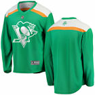 Pittsburgh Penguins Green St Patricks Day Replica Blank Jersey