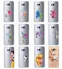 Creative Kids Cartoon Ultra Thin Clear Cover Case For Samsung Galaxy S9 S9 Plus