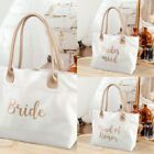 Wedding Tote Bag Gold Bride Bridesmaid Maid of Honor Bridal Party Gift Favours