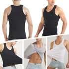 Men Sport Casual Tight Breathable Solid Color Vest Soft Comfy Home Wear Tops