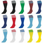 Precision Training 3 Stripe Football Socks Kids / Adults Various Colours rrp£8