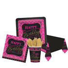FABULOUS BIRTHDAY Birthday Party Tableware, Banners, Balloons & Decorations