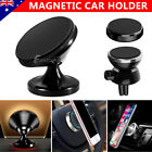 Universal Magnetic Magnet Car Phone Holder Mount Stand GPS PDA iPhone Samsung S9