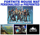 Fortnite Mouse Mat Mac PC Apple Gaming Laptop Computer personalised gift
