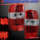 Set of Pair Red LED Taillights for 2000-2006 Chevy Tahoe Suburban / GMC Yukon