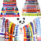 2018 World Cup Soccer Nation 32 Teams Scarf Football Fans Souvenirs Scarves