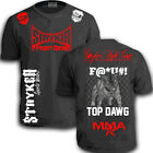 Stryker Shorts Sleeve T MMA UFC Pit bull Dog bjj Boxing With FREE Tapout Sticker