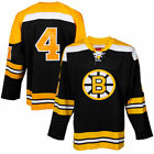 Mitchell  Ness Bobby Orr Boston Bruins Black Throwback Authentic Vintage Jersey