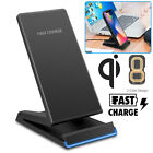 Fast Qi Wireless Charger Charging Pad Stand Dock for Samsung Galaxy Note 8 S8 S9