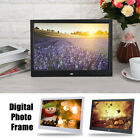Digital Photo Frame Electronic Picture Player Remote Control Movie Album Display