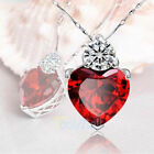 gifts for mother - Heart MOM Necklace Mothers Day Birthday Gift for Wife MOM Crystal BEST GIFT US