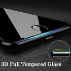 For Apple iPhone 7 8 Plus - 3D Full Cover Curved Tempered Glass Screen Protector