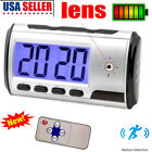 Spy Hidden Camera Motion Security Alarm Clock Video Home Surveillance Camcorder