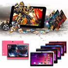 "7"" Android 4.4 Quad Core Tablet PC Dual Cams Children 8GB WiFi For Kids Gifts GA"