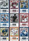 2017 Panini Contenders Draft Picks Football cards - Complete Your Set !!