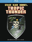 Tropic Thunder (Blu-ray Disc, 2008, Directors Cut) New Factory Sealed