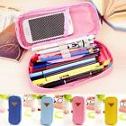 Pen Case School Pencil Box Stationery Makeup Brush Pouch Cosmetic Storage Bag Ga