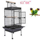 "63""68"" Parrot Cage with Playtop Parrot Finch Cage Macaw Cockatiel Cockatoo"