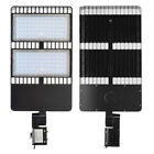 200W 300W LED Parking Lot Outdoor Road Light Fixtures Shoebox Pole Street Light