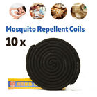 10/20/40x Mosquito Repellent Coil Insect Repeller Home Camping Outdoor +Holder