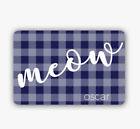 Personalized Woof/Meow Pet Placemat