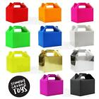 Plain Colour Party Food Boxes Children's Party Kids Bags Celebration Cake Box