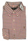 NEW Polo Ralph Lauren Shirt!  *Orange Blue White Plaid*  *Thick Oxford Fabric*